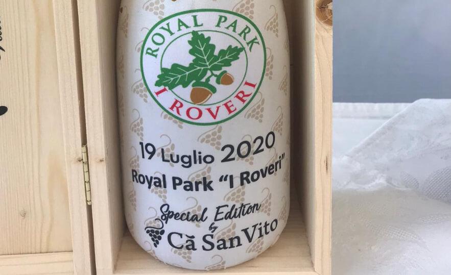 Ca' San Vito ospite con i suoi vini a Golf Club Royal Park I Roveri